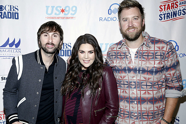 Lady Antebellum ranked songs