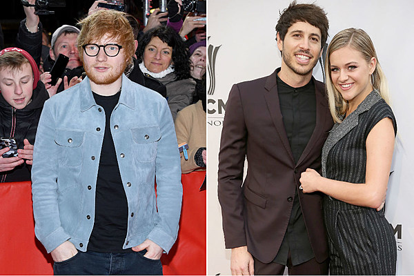 Kelsea Ballerini, Morgan Evans Do Karaoke With Ed Sheeran in Nashville [WATCH]
