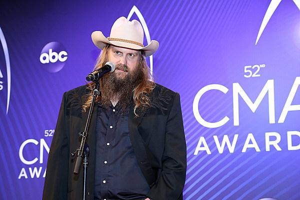Chris Stapleton Named 2018 Cma Awards Male Vocalist Of The