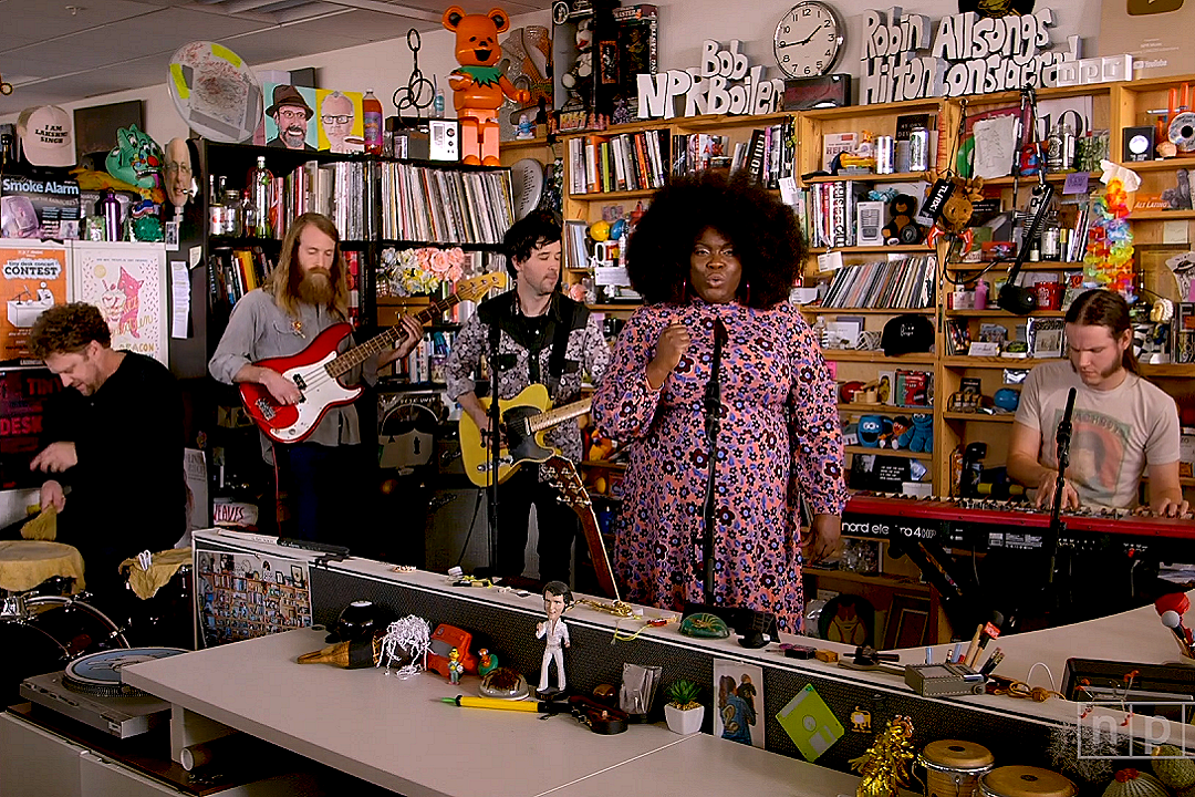 Yola Shines Throughout Her NPR Tiny Desk Concert [WATCH]